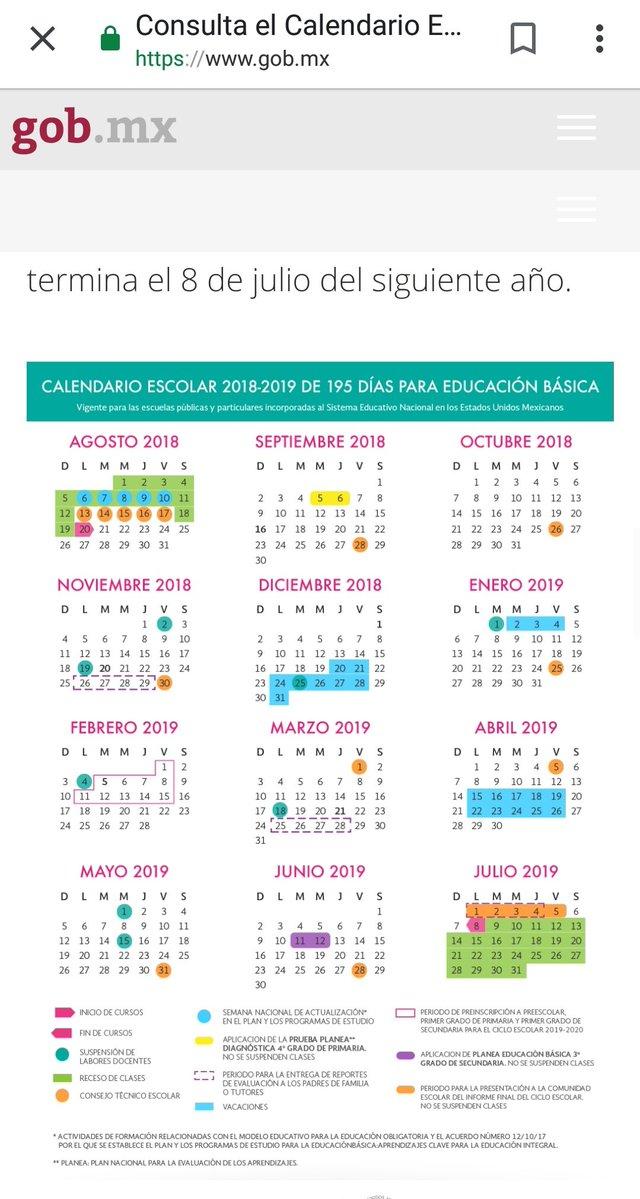 Calendario Escolar 2020 Sep Oficial.El Calendario Escolar Unico 190 Dias Revista Educarnos